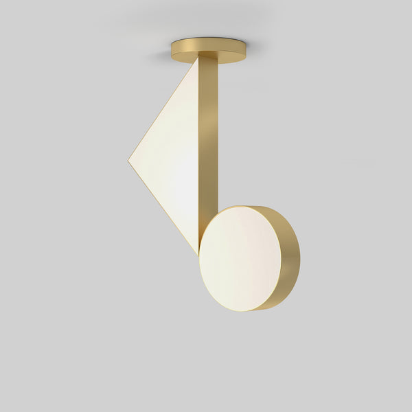 Flat Shapes Ceiling Light