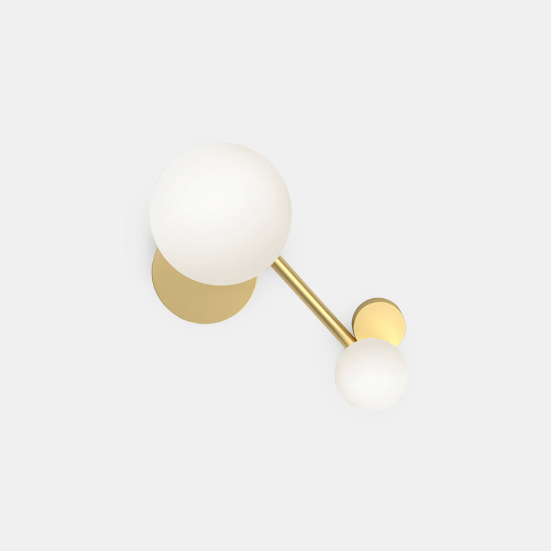 Line and Globes Ceiling Light - Globes
