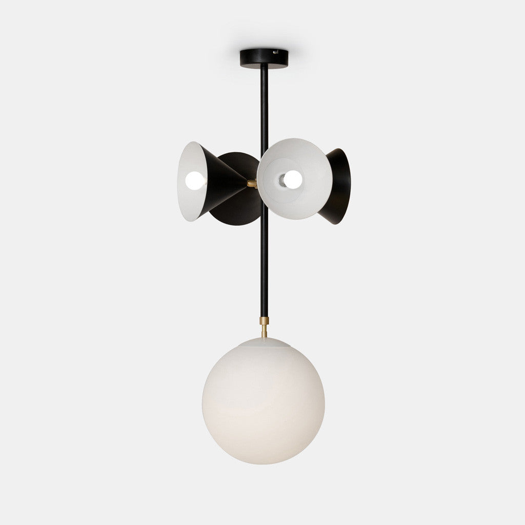 Axis Pendant - Globe and Cones - Monologue London