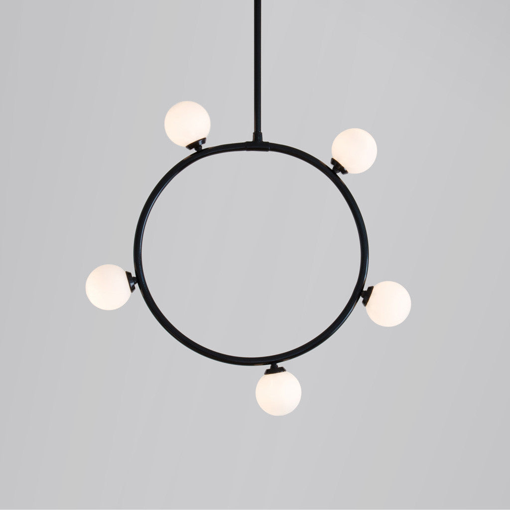 Circle and Spheres Pendant Lamp - Monologue London