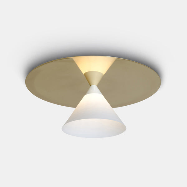 Plate and Cone Ceiling Light - Monologue London