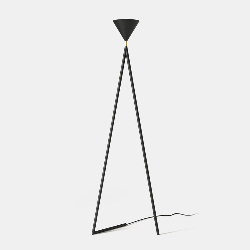 One Cone Floor Lamp - Slanted base - Monologue London