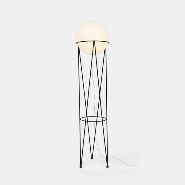 Structure and Globe Floor Lamp - Monologue London
