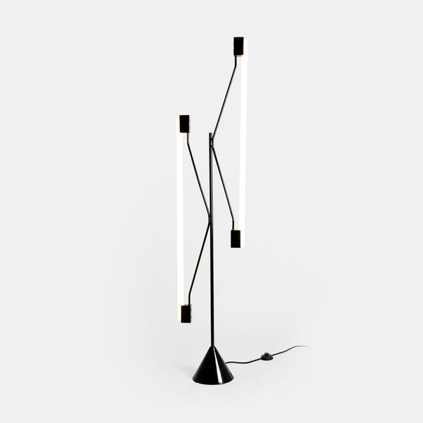 2 Tubes Floor Lamp - Monologue London