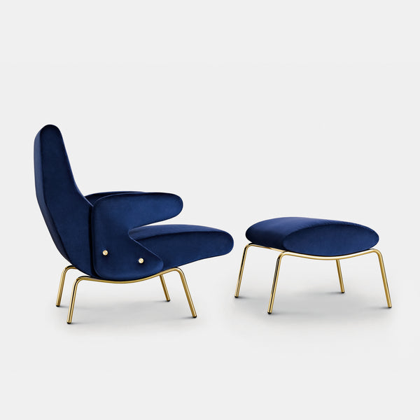 Delfino Lounge Chair - Monologue London