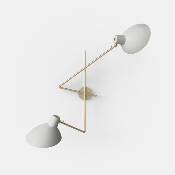 VV Cinquanta Twin Wall Lamp - Monologue London