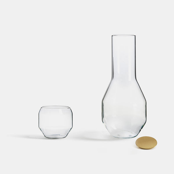 Angolo Carafe - Transparent - Monologue London