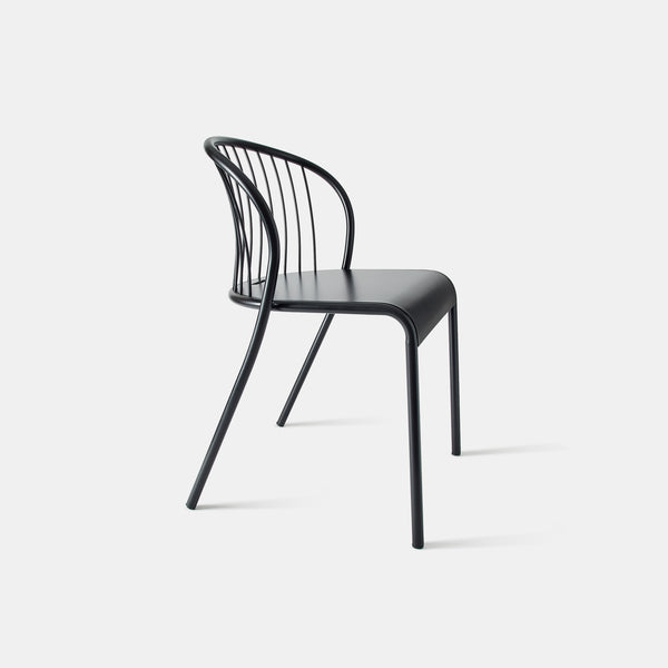 Cannet Chair - Black - Monologue London