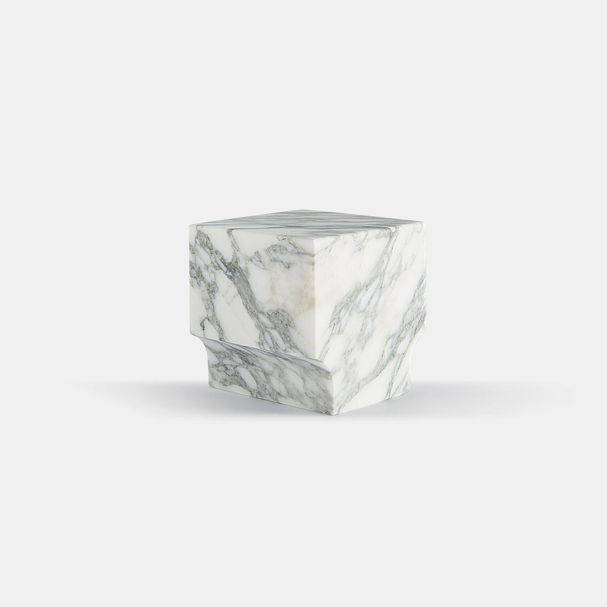 Classico Book End / Marble Arabescato - Monologue London