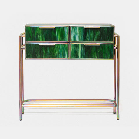 Fused Glass Console