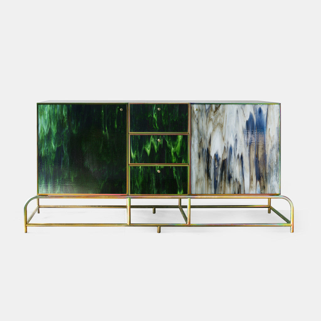Fused Glass Credenza - Monologue London