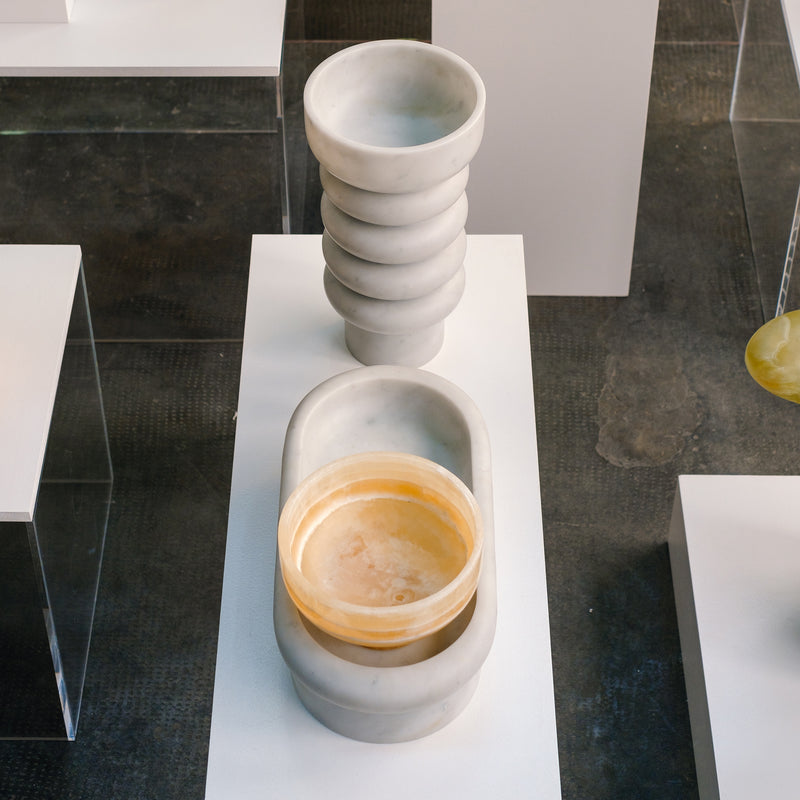 Affinità Elettive - Ottilie Vase, Carrara - Monologue London