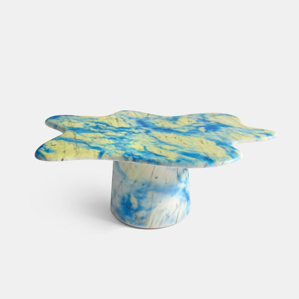 Ondamarmo Coffee Table - Carrara + Varnish, Special Edition - Monologue London