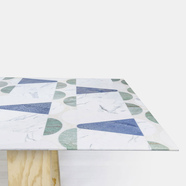 Papiro Cone Table - Blue - Monologue London