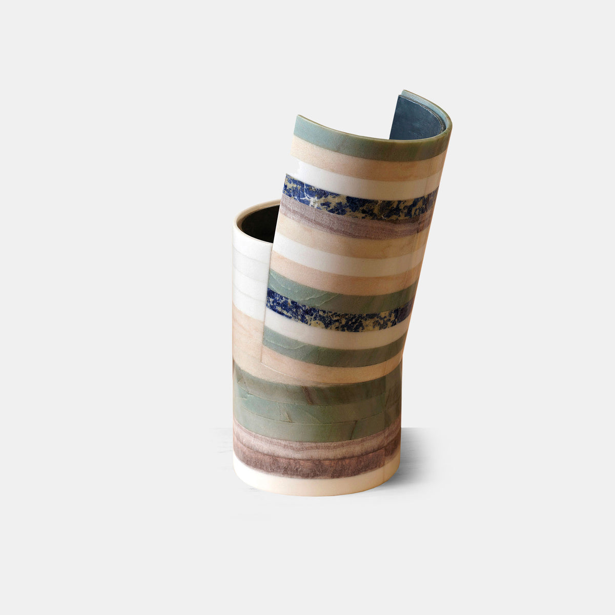 Y-Tube Marble Vase - 02 - Monologue London