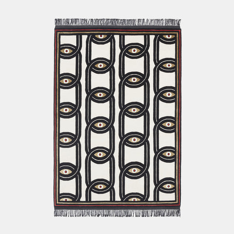 Eyes in Chains Rug