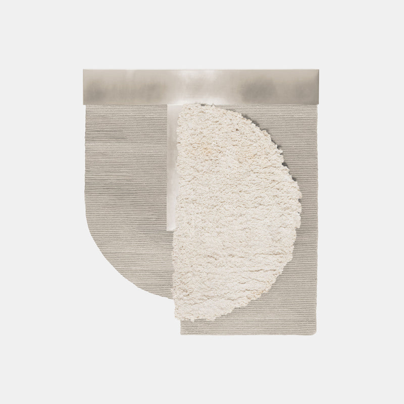 Hello Sonia Rug Wallhanging - Large, White - Monologue London