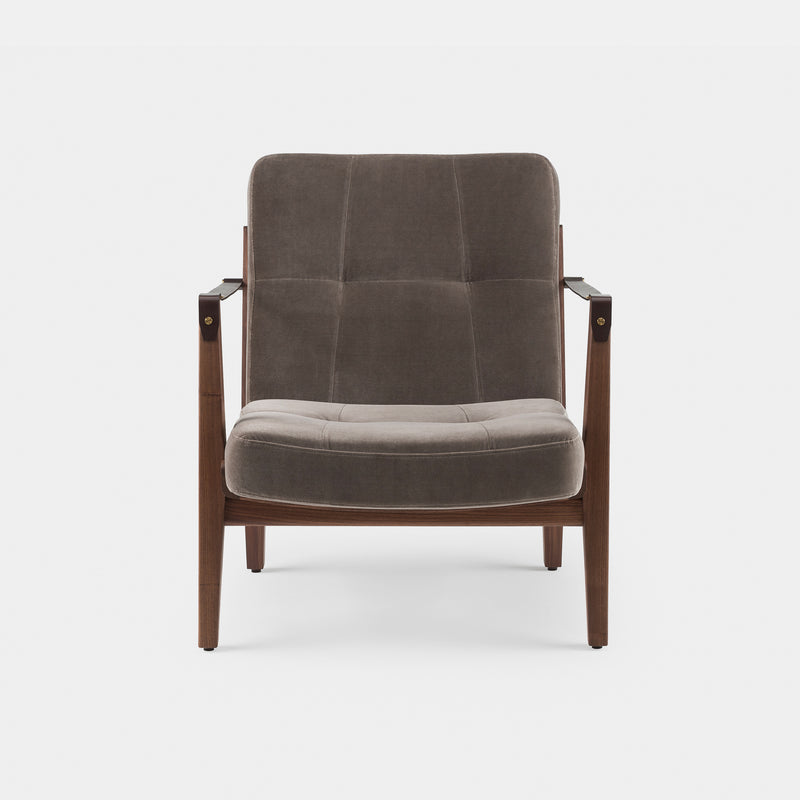 Capo Lounge Chair w/Armrests - Monologue London
