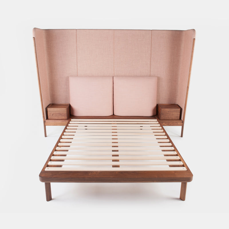 Tall Dubois Bed w/Side tables - Monologue London