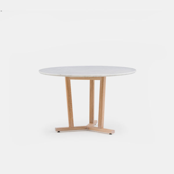 Shaker Round Table w/Marble Top