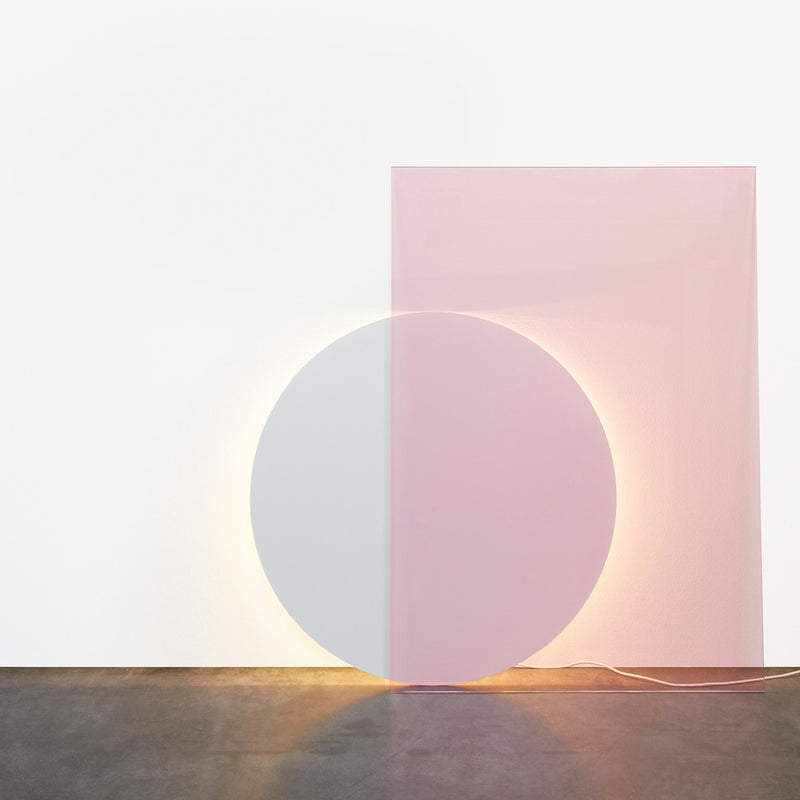 Colour Floor Light - Pink-Blue - Monologue London