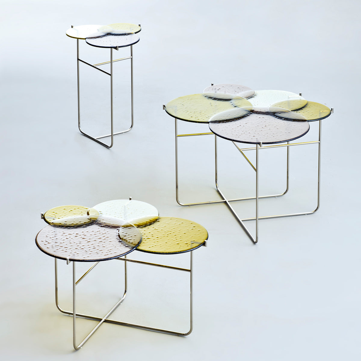Pastille Tables - Green