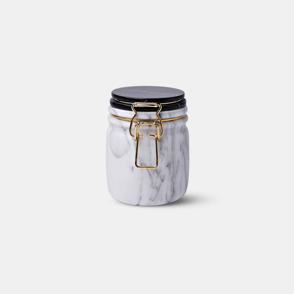 Miss Marble Jar - Arabescato & Marquina - Monologue London