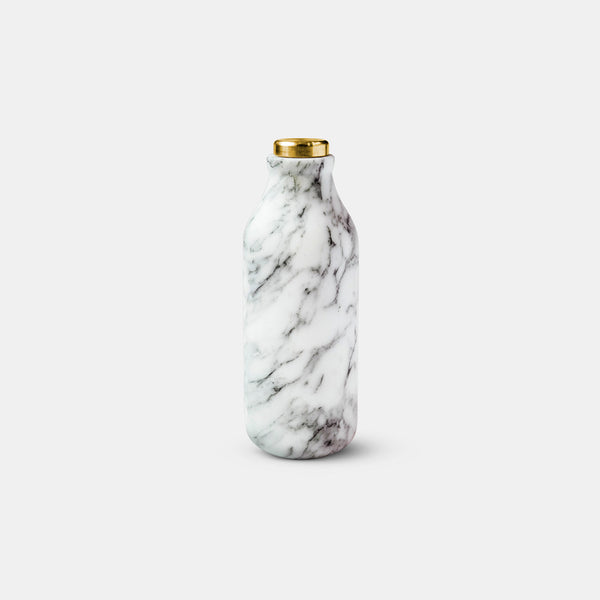 Mr Bottle - Arabescato marble - Monologue London