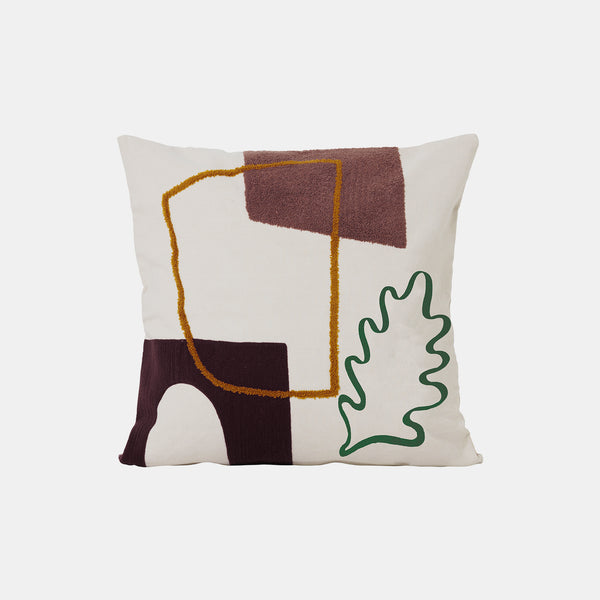 Mirage Cushion - Leaf - Monologue London