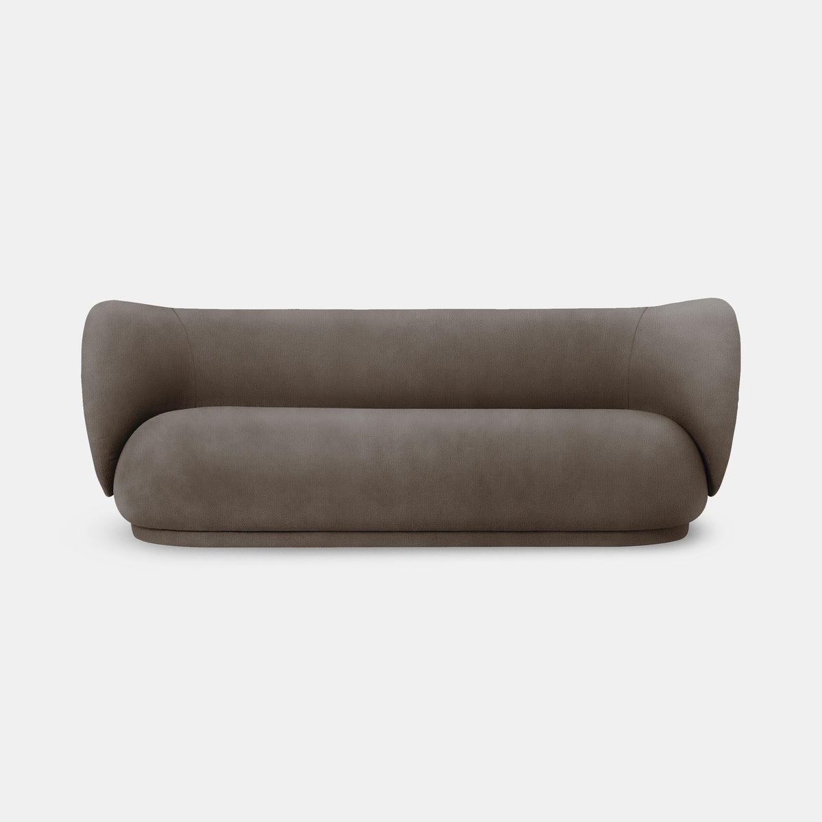 Rico 3 Seater Sofa - Brushed
