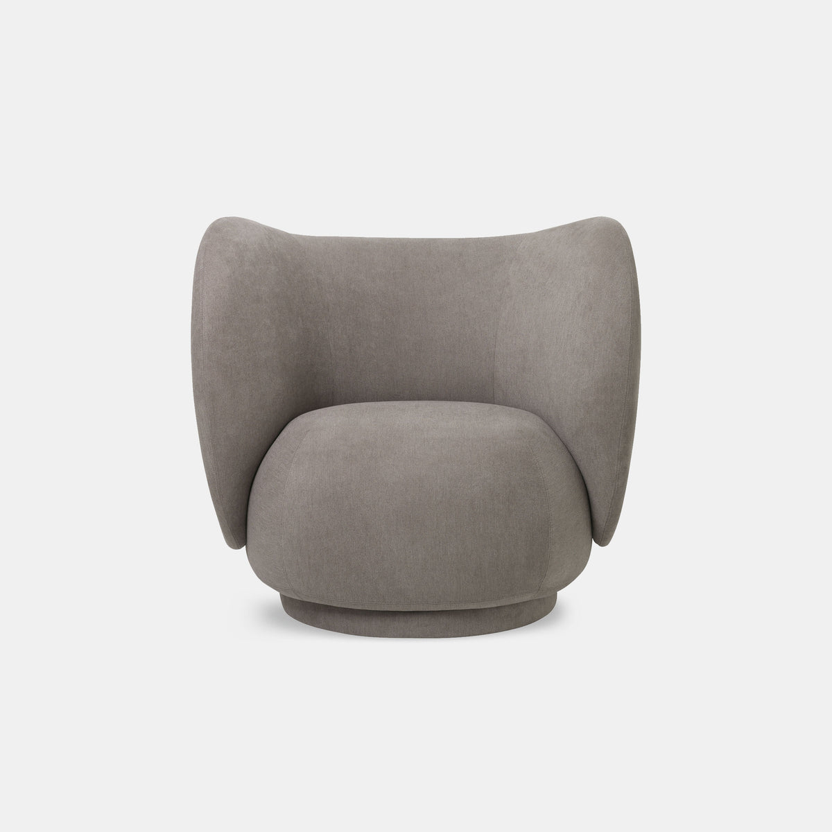 Rico Lounge Chair - Brushed