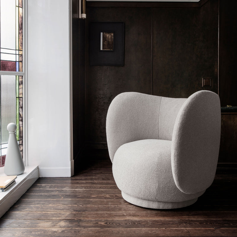 Rico Lounge Chair - Brushed - Monologue London