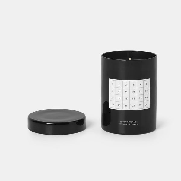 Scented Candle Calendar - Black