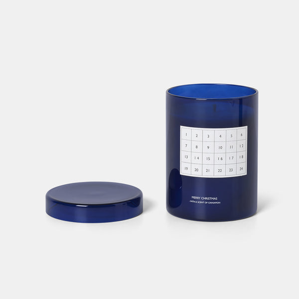 Scented Candle Calendar - Blue