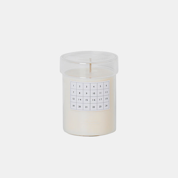 Scented Candle Calendar - White