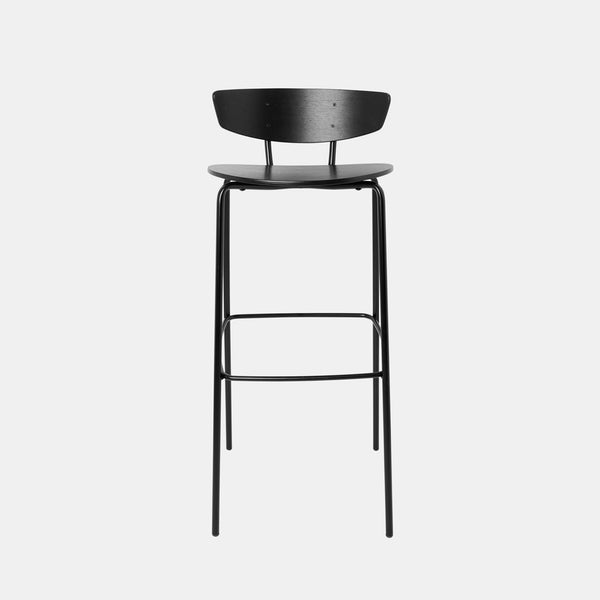 Herman Bar Chair - Black - Monologue London