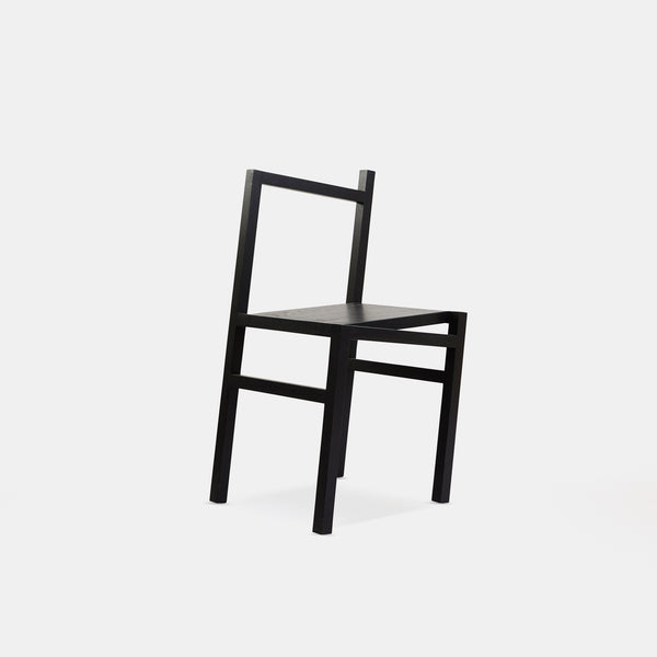 9,5° Chair - Black ash - Monologue London