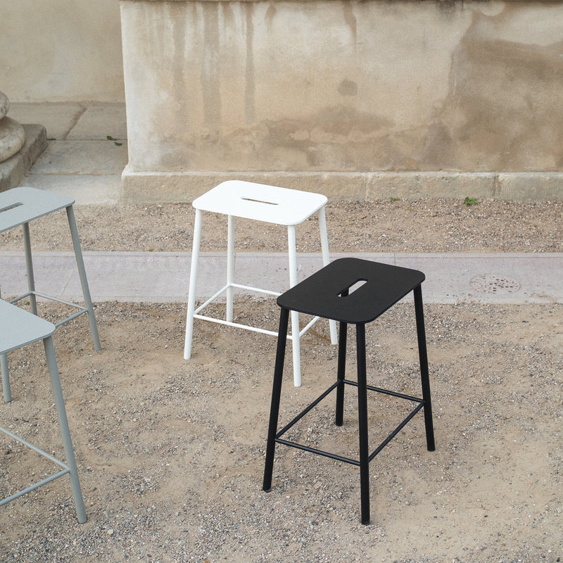 Adam Low Stool - Outdoor, Set of 2 - Monologue London