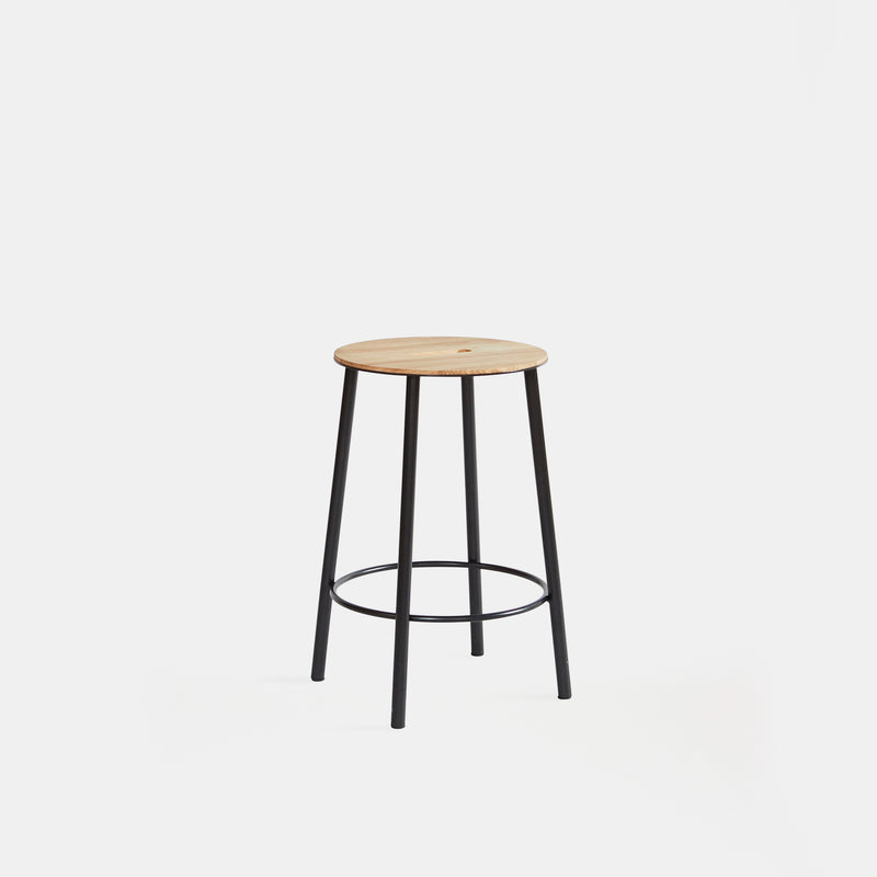 Adam Low Stool - R031 Round, Set of 2 - Monologue London