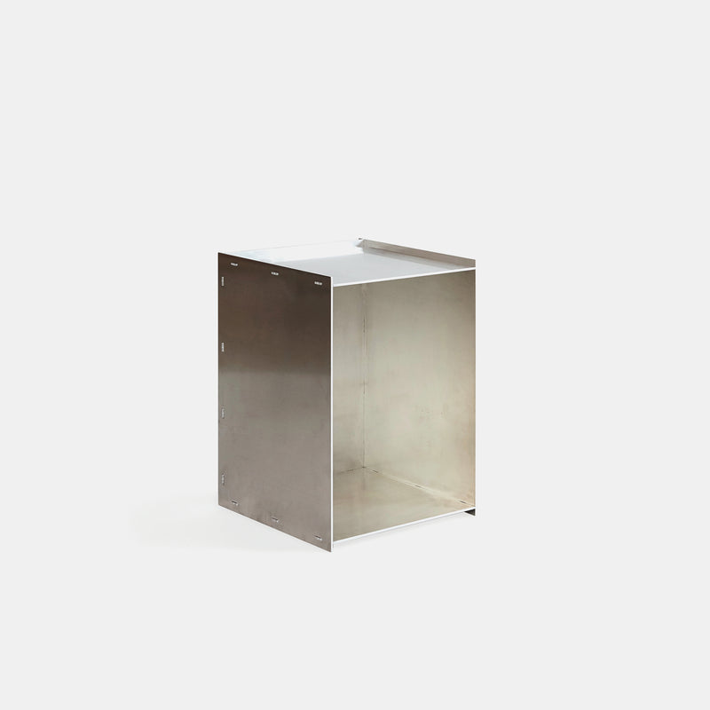Rivet Box Side Table - Monologue London