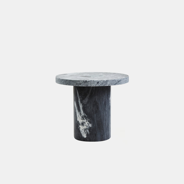 Sintra Side Table - Marble Edition, Black - Monologue London