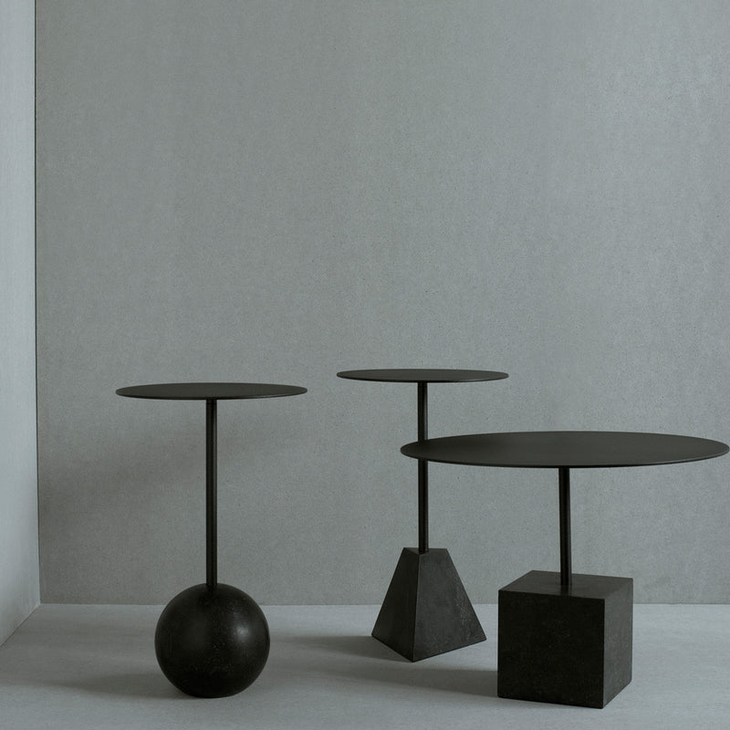 Knock Out Lounge Table - Pyramid base - Monologue London