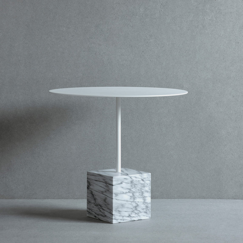 Knock Out Lounge Table - Square base, High - Monologue London
