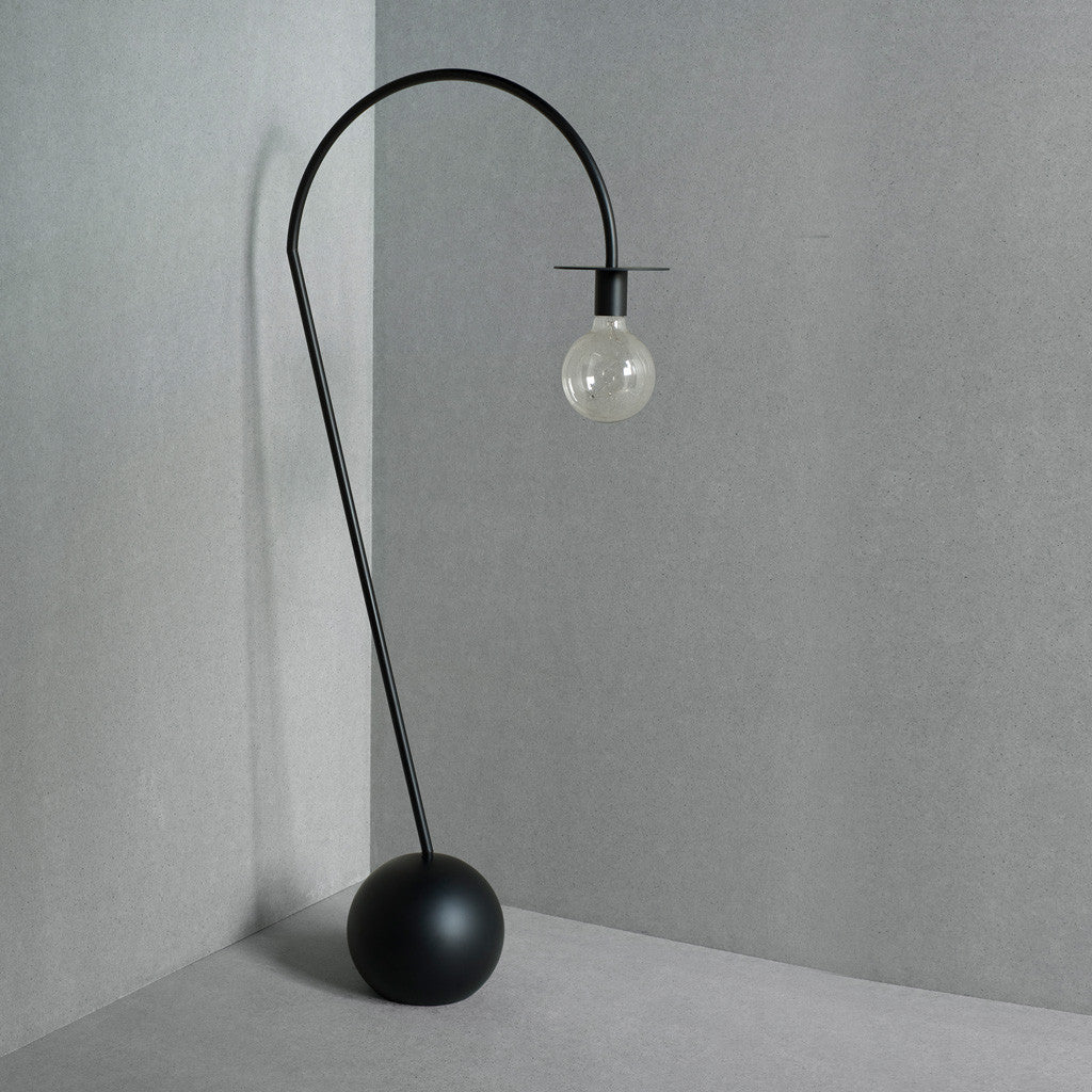 La Lampe Floor Light - Black - Monologue London