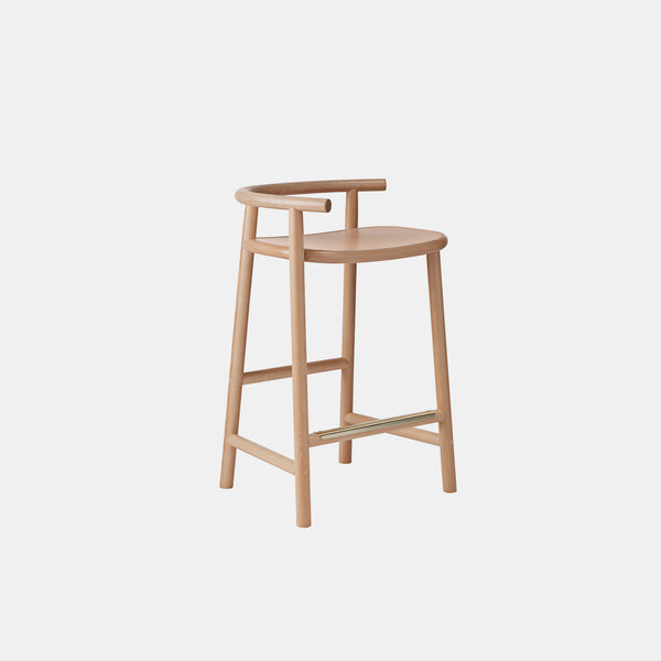 Single Curve Counter Stool - Monologue London