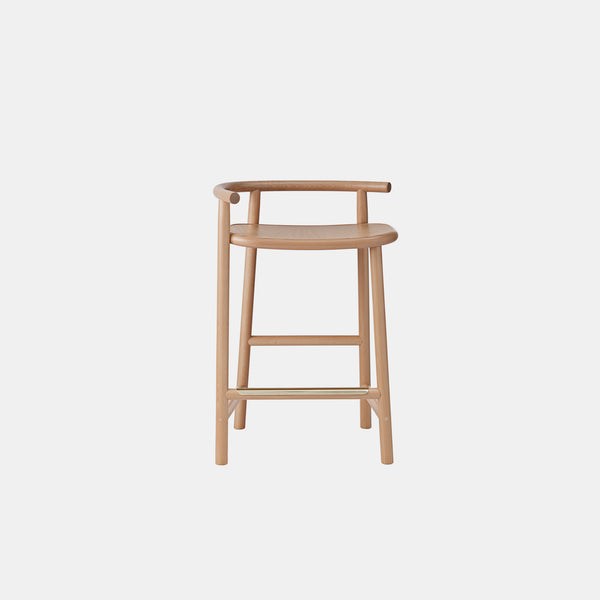 Single Curve Counter Stool
