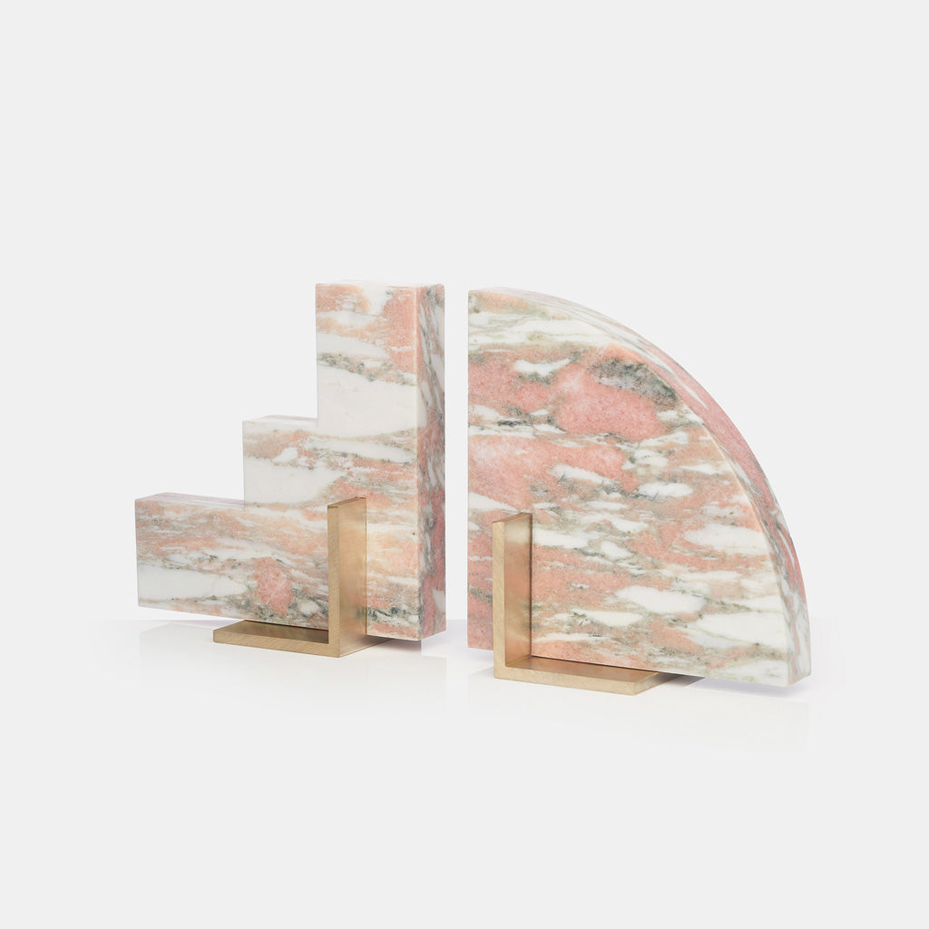 Odd Couple Bookends - Rose Marble - Monologue London