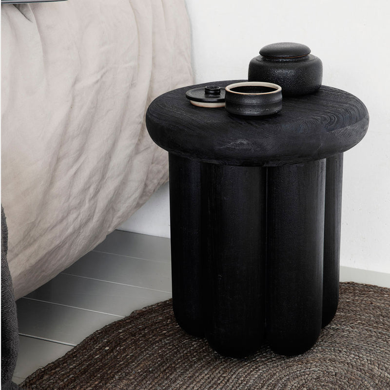 Phant Side Table - Black - Monologue London