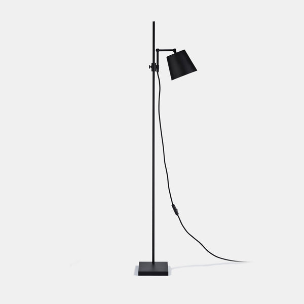 Steel Lab Floor Lamp - Black - Monologue London