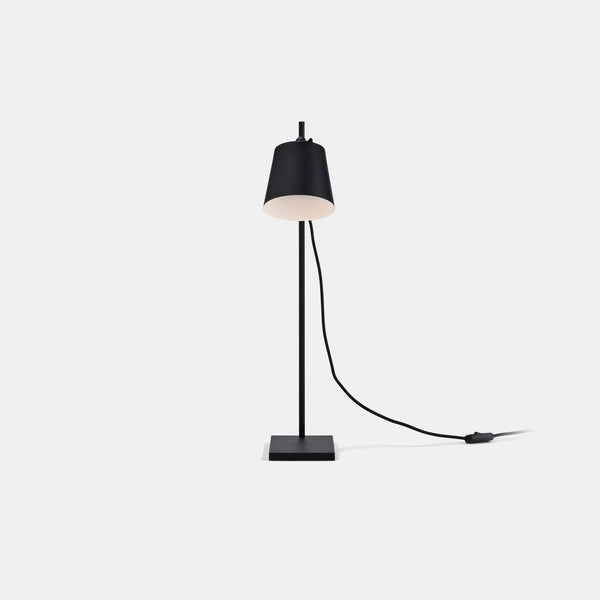 Steel Lab Table Lamp - Black - Monologue London